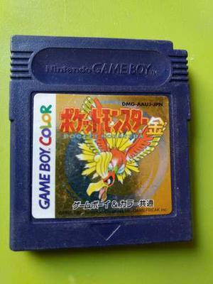 Gameboy Color Pokemon Plata Silver Japones