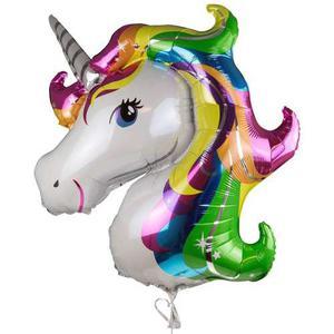 Globo De Unicornio Para Decoración Metálico Regalo Amor