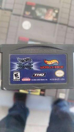 Hot Wheels Velocity X/ World Race Gameboy Advance