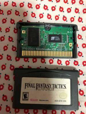 Juego Final Fantasy Tactics Gameboy Advance 100% Original