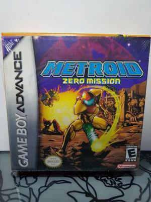 Juego Metroid Zero Mission Game Boy Advance Gba Nintendo