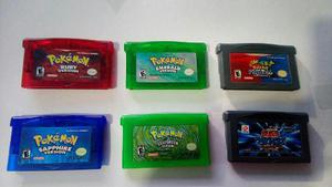 Juegos De Pokemon De Game Boy Advance Originales