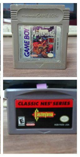 Juegos Saga Castlevania Gameboy / Gameboy Advance