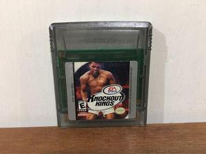 Knockout Kings Para Game Boy Color / Gbc En Buen Estado