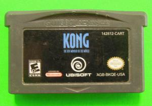 Kong The 8th Wonder Of The World Para Gameboy Advanced