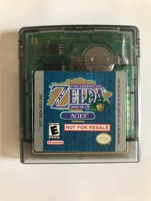 Legend Of Zelda Oracle Of Ages Not For Resale Game Boy Color
