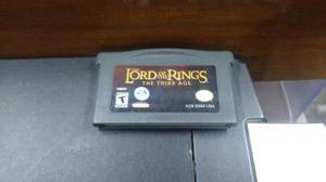 Lord Of The Rings The Third Age Nintendo Game Boy Advance