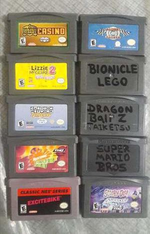 Lote 10 Juegos Gameboy Advance