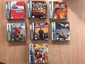 Lote De Juegos Gameboy Advance Y Color Originales Y Sellados