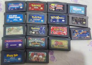 Lote De Juegos Para Game Boy Advance (leer Descripcion)