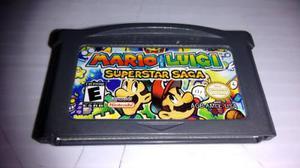 Mario And Luigi Superstar Saga Gen Nintendo Game Boy Advance
