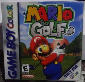 Mario Golf En Caja Para Gameboy Color En Gamekiosko