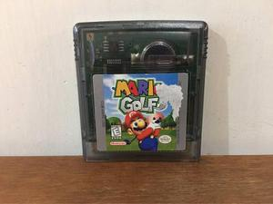 Mario Golf Para Game Boy Color / Gbc En Buen Estado