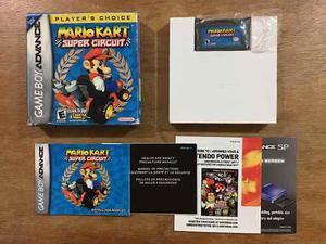 Mario Kart Super Circuit Completo Game Boy Advance / Gba