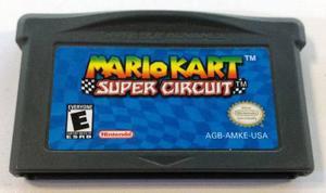 Mario Kart Super Circuit Game Boy Advance Gba Retromex Tcvg