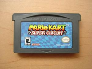 Mario Kart Super Circuit Para Game Boy Advance Rtg +++++
