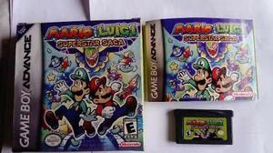 Mario & Luigi Superstar Saga Game Boy Advance Nintendo
