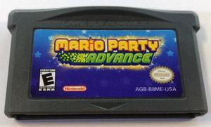 Mario Party Advance Game Boy Advance Suelto Retromex Tcvg