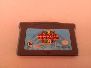 Mario Pinball Land Game Boy Advance Original