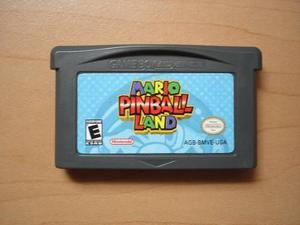 Mario Pinball Land Para Game Boy Advance Rtg +++++