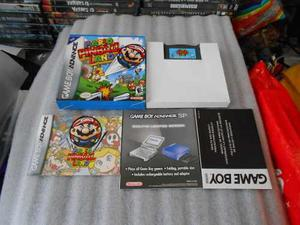Mario Pinball Land,game Boy Advance,gba,funcionando.