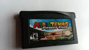 Mario Tennis Power Tour Game Boy Advance Nintendo Gba