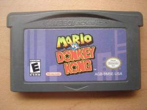 Mario Vs Donkey Kong Game Boy Advance - Rtg +++++