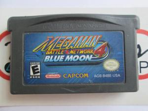 Megaman Battle Network 4 Blue Moon Para Gameboy Advance Gba
