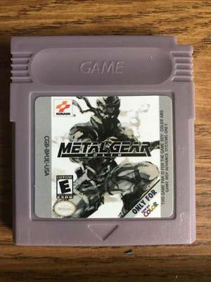 Metal Gear Solid Gameboy Color