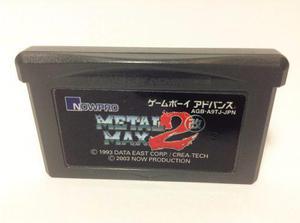 Metal Max 2 Kai Nintendo Gameboy Advance Gba