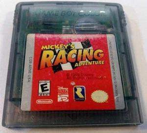 Mickey's Racing Adventure Game Boy Color Gbc Retromex Tcvg