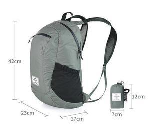 Mochila Backpack Plegable 18l Naturehike Impermeable Calidad
