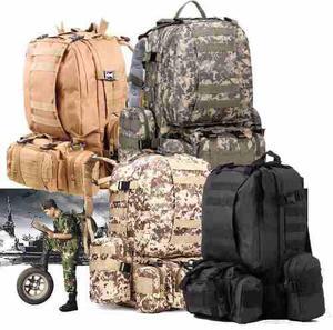 Mochila Backpack Táctica Militar 55l Molle Campismo