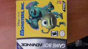Monster Inc Game Boy Advanced