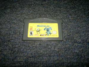 Monster Inc Para Game Boy Advance,checalo