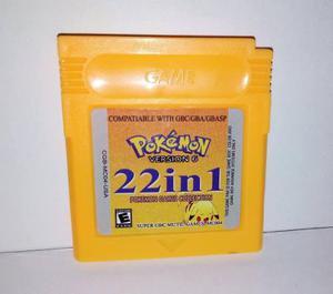 Multijuegos Todos Los Pokemon Para Game Boy Color + Envío