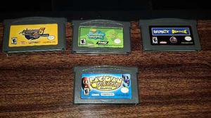 Pac Man Pinball Advance,game Boy Advance,funcionando.