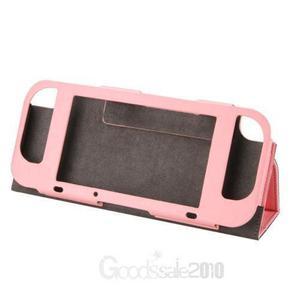 Pink-pu Cuero Caso Cubierta Protectora Interruptor Nint-3125