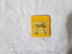 Pokemon Amarillo Game Boy Original