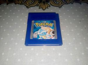 Pokemon Blue Azul Nintendo Game Boy Advance Gb Gba
