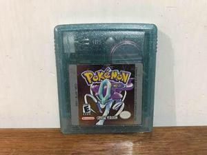 Pokemon Crystal Version Gameboy Color Gbc Excelente Estado