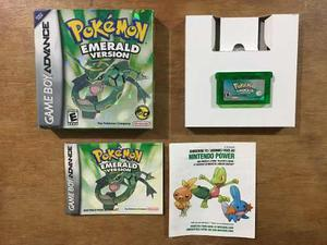 Pokemon Emerald Version Completo Game Boy Advance / Gba
