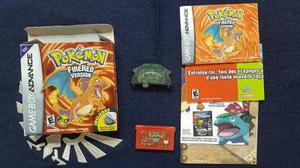 Pokemon Fire Red Nintendo Gameboy Advance