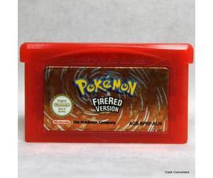 Pokemon Fire Red Para Gameboy Advance----------------mr.game