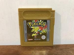 Pokemon Gold Version Europeo Para Gameboy Color / Gbc