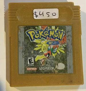 Pokemon Gold Version Game Boy Envio Gratis Por Dhl