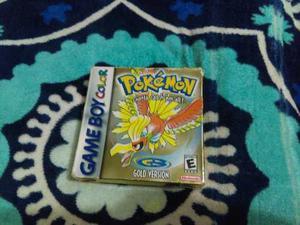 Pokemon Gotta Catch Em All Gold Version Gameboy Color