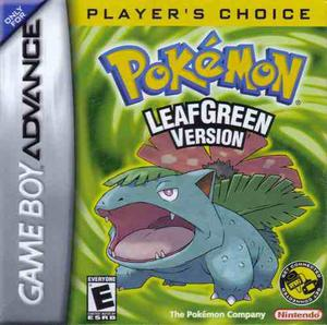 Pokemon Leaf Green Game Boy Advance