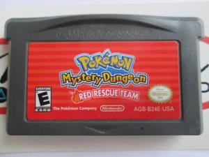 Pokemon Mystery Dungeon Para Gameboy Advance Gba Red Rescue