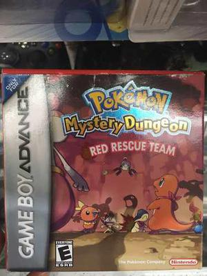 Pokemon Mystery Dungeon Red Rojo Gameboy Advance